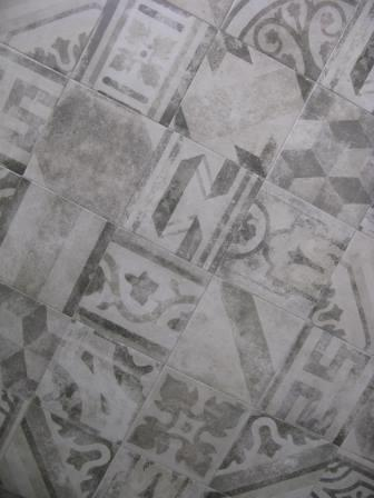 Carrelage Carreau Ciment 25x25 Antica Pompei Grey Codicer Codicer