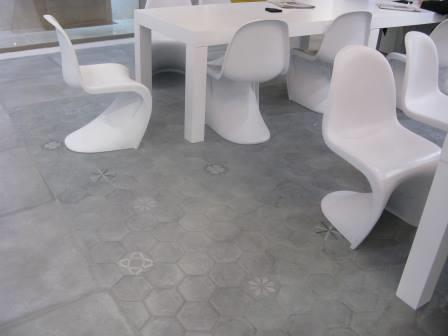 Carrelage Sol Interieur Hexagonal Carrelage - Carrelage hexagonal sol
