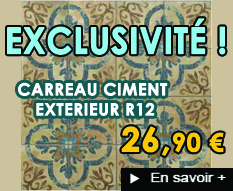 Carreaux ciment ext�rieur