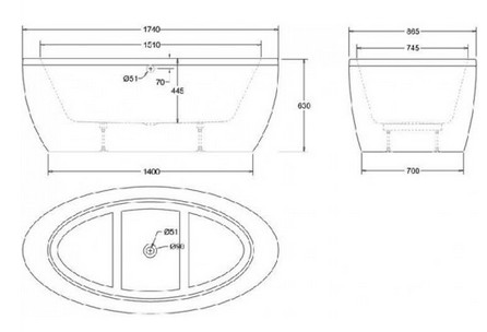 dimensions standard baignoire salle de bain ue baignoires. Black Bedroom Furniture Sets. Home Design Ideas