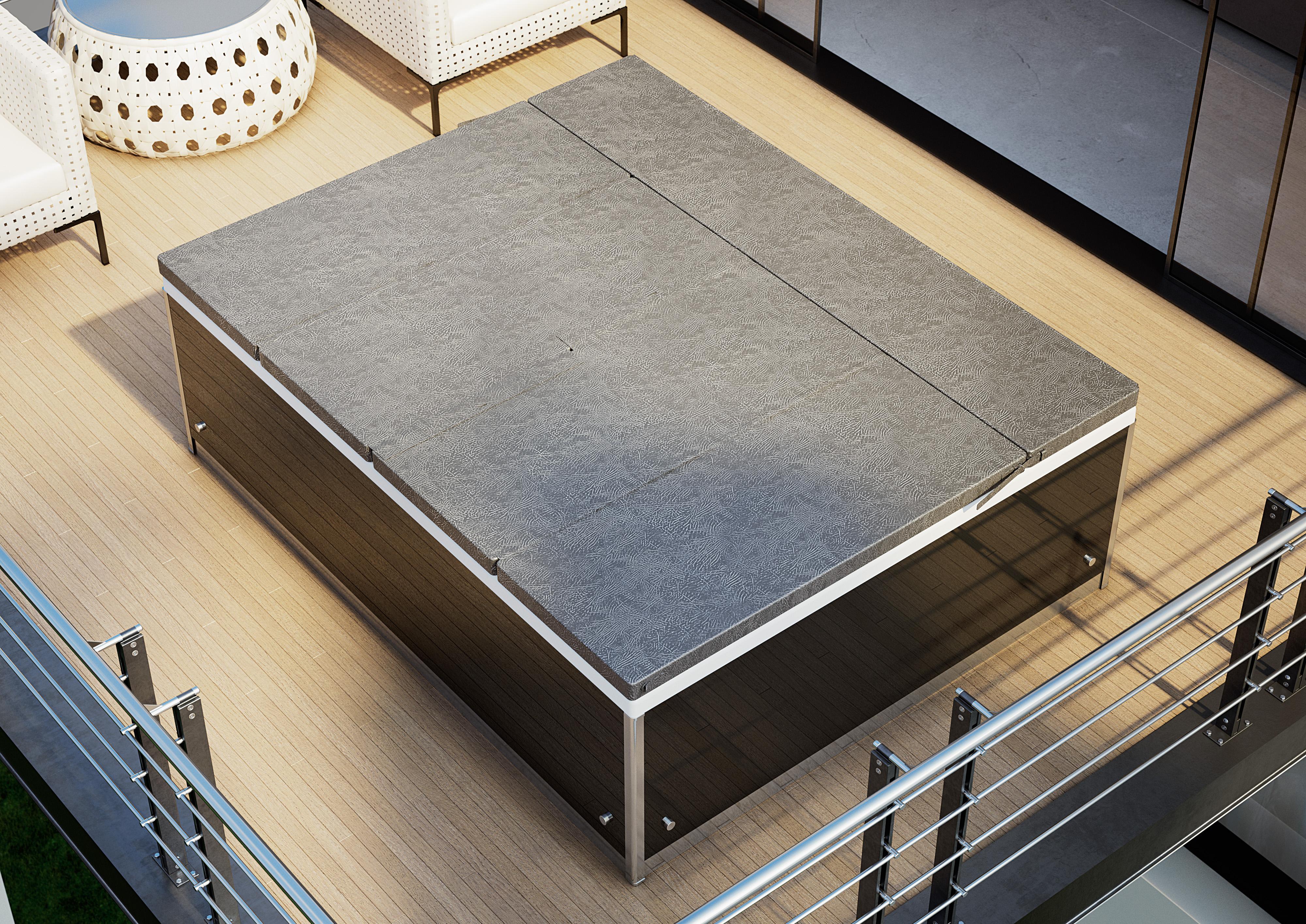 Magic spa 200x160 cm 2 places kinedo kinedo baignoire balneo et spa spa - Couverture thermique spa ...