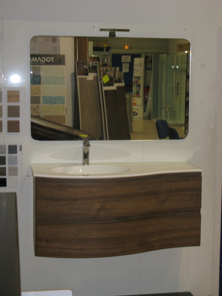 meuble de salle de bains italien circle cir1102c - Carrelage Salle De Bain Italien
