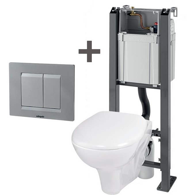 pack wc suspendu chrono wirquin suspendu baignoire et sanitaire wc. Black Bedroom Furniture Sets. Home Design Ideas