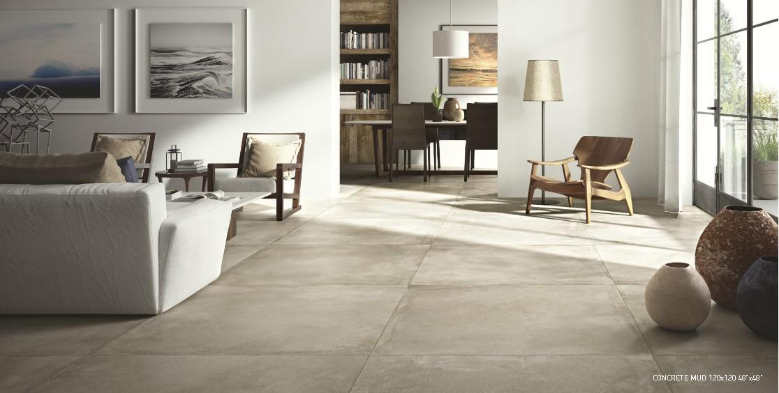 Carrelage sol beton 120x120 concrete nuovo corso nuovo - Temps sechage joint carrelage ...