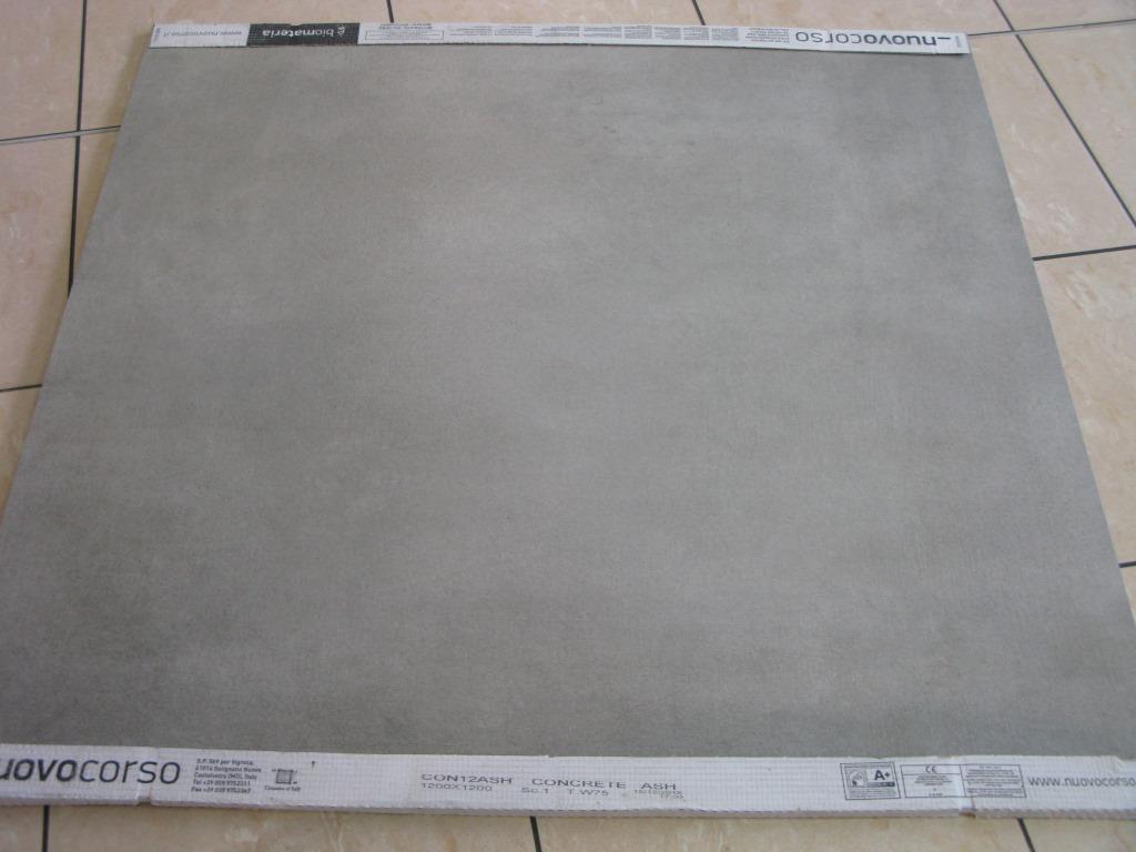 Carrelage sol beton 120x120 concrete nuovo corso nuovo for Carrelage 120x120