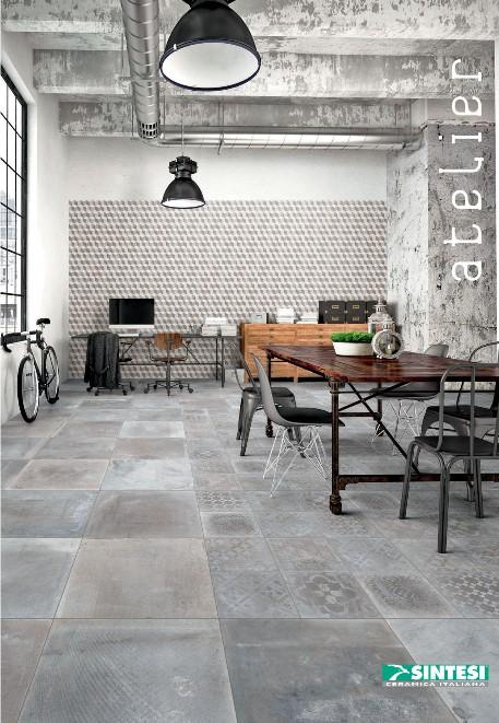 Carrelage 60x60 Su00e9rie Atelier - Sintesi Sintesi carrelage ...
