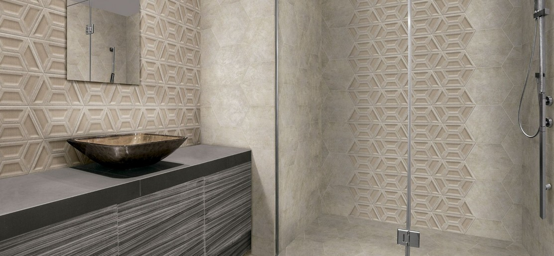 carrelage hexagonal bling 33x28 5 realonda realonda carrelage salle de bain octogonal et sol. Black Bedroom Furniture Sets. Home Design Ideas