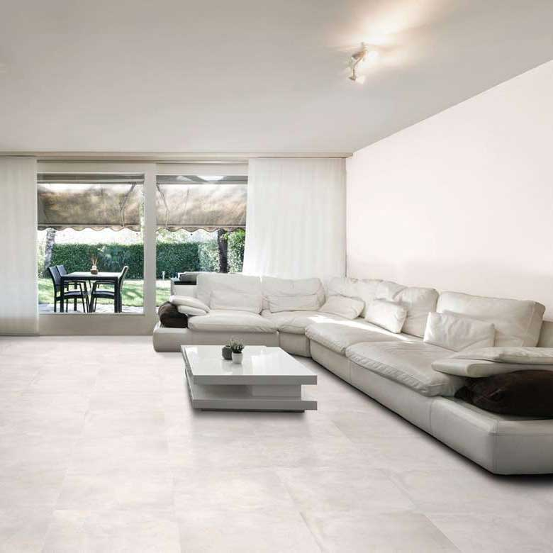 Carrelage 60x60 danxia white rectifi semipoli tau tau for Carrelage sol interieur 60x60