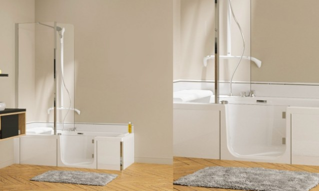 kineduo le combin douche bain de kinedo kineduo le combin douche bain baignoire et. Black Bedroom Furniture Sets. Home Design Ideas