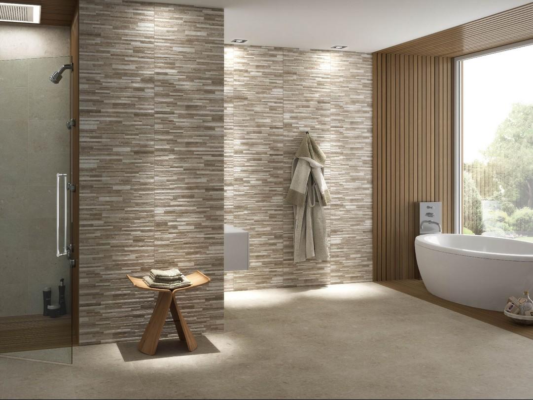 Carrelage salle de bain 31x60 Gard et Treves Saloni Saloni ...