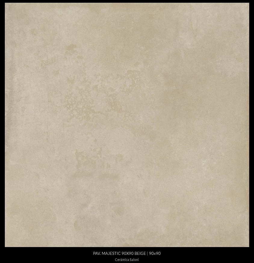 Carrelage sol interieur 90x90 majestic de saloni saloni for Carrelage 90x90 beige