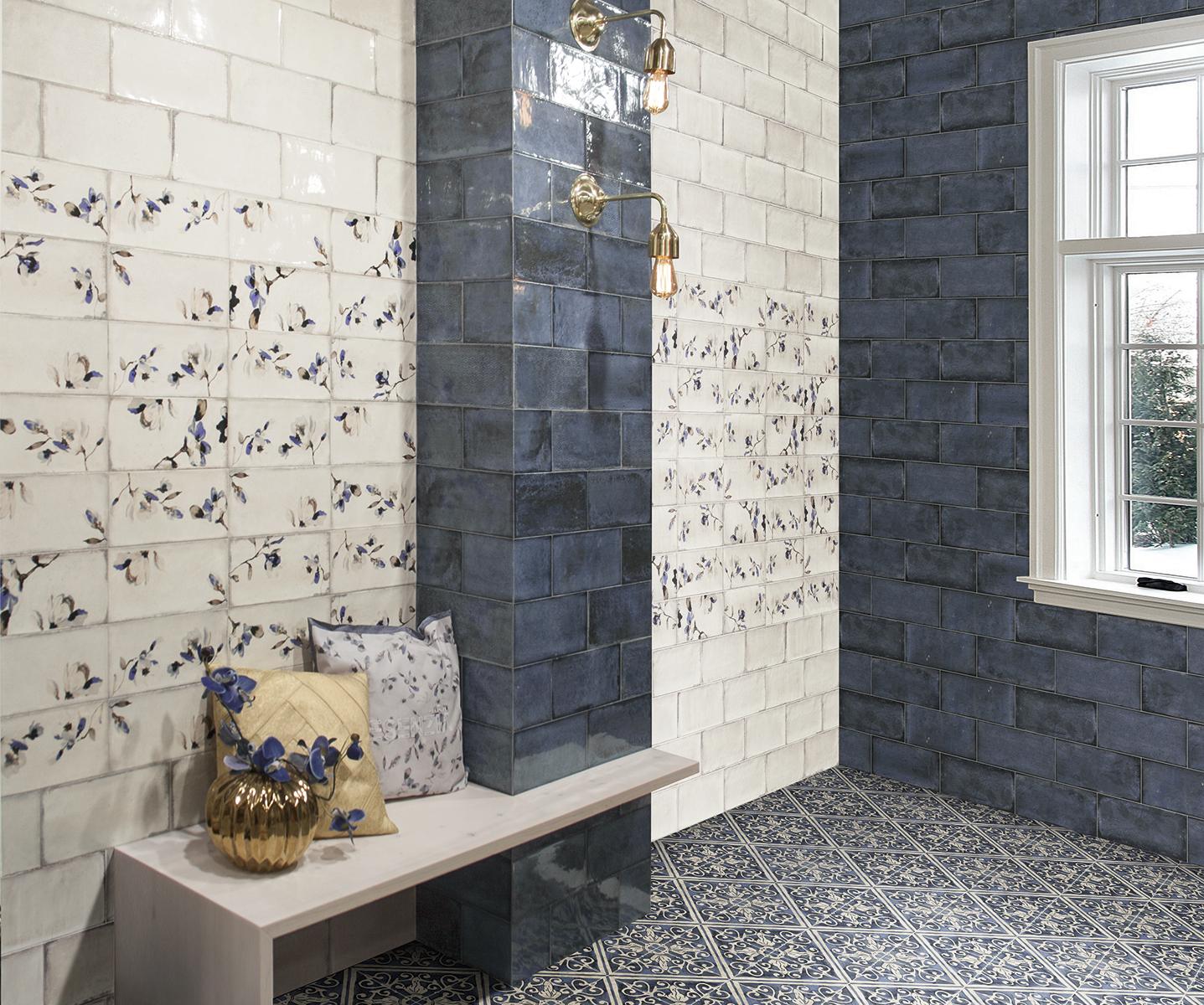 Carrelage salle de bain carrelage en ligne faiences for Carrelage mural azulejos