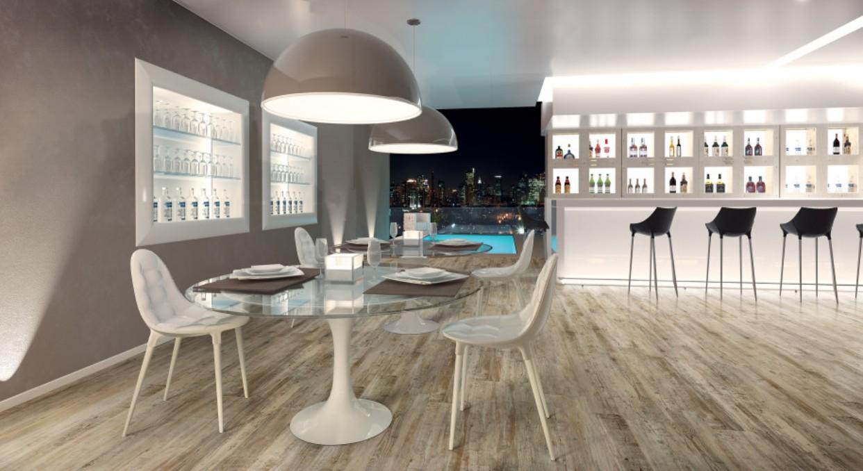 carrelage parquet et 24 6x100 echo monocibec. Black Bedroom Furniture Sets. Home Design Ideas