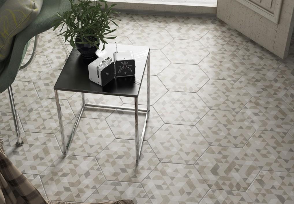 equipe ceramicas france home ua hexagonal floor tiles by. Black Bedroom Furniture Sets. Home Design Ideas