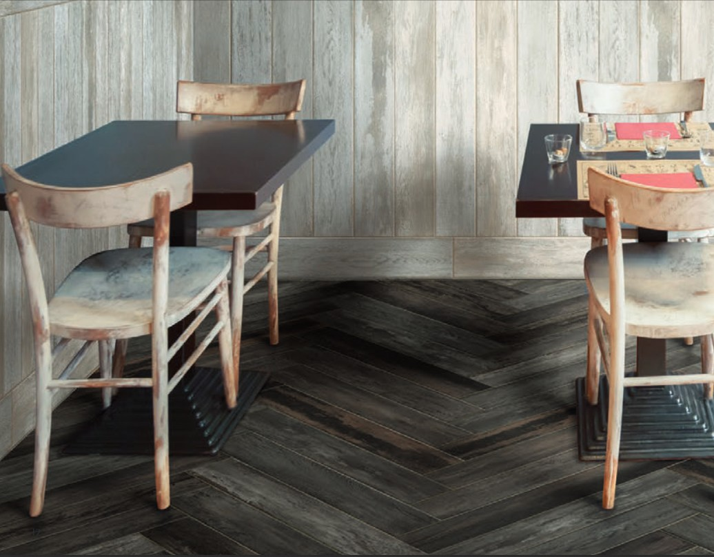 Effet bois 18x118 tahoe serenissima carrelage sol for Carrelage sol interieur