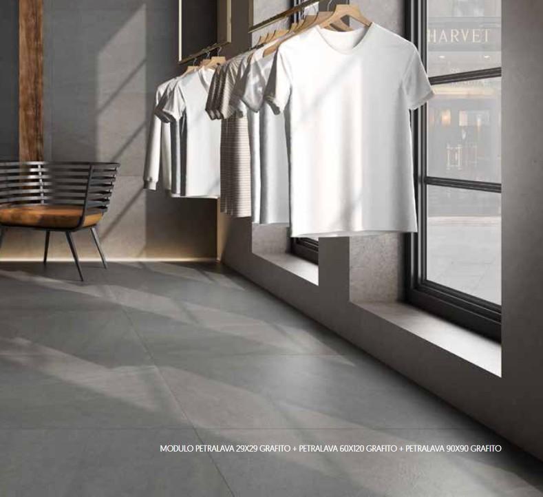 60x60 rectifi petralava saloni carrelage sol interieur pierre for Carrelage sol interieur 60x60